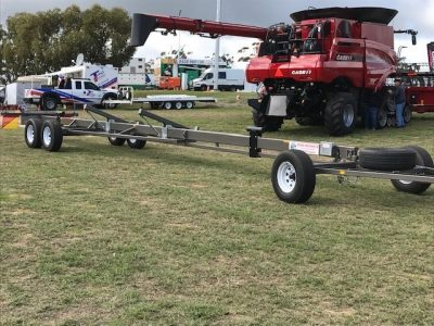 SIngle Beam Comb Trailers - Field Days - Reids Mechweld